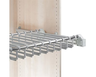 Side Mounted Pull-Out Trouser Rack